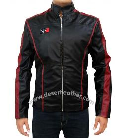 Desert Leather - Mass Effect N7 Jacket