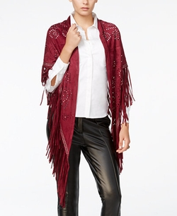 Fair Child - Embellished Fringe Shawl Cardigan