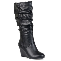 Journee Collection Hana - Slouch Wedge Boots