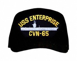 Navy Caps - USS Enterprise CVN-65 Ships Ball Cap