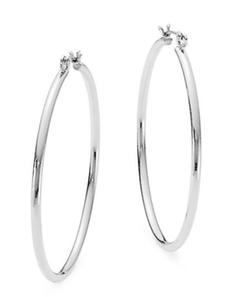 Nine West - Click-It Hoop Earrings