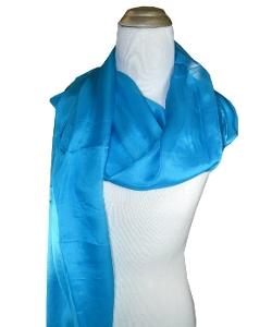 Pür by Pür Cashmere - Pür Couture Solid Silk Scarf