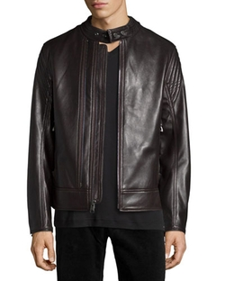 Andrew Marc - Windsor Leather Racer Jacket