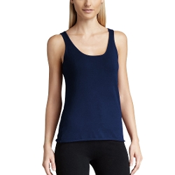 Parisbonbon - Cashmere Scoop Neck Tank Top