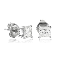 Diamond Delight - Diamond Stud Earrings
