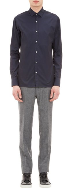 Lanvin  - Slim-fit Poplin Shirt