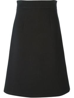 Cédric Charlier  -  A-Line Midi Skirt