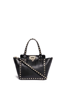 Valentino  - Rockstud Mini Leather Tote