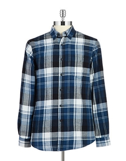 Hudson North  - Flannel Sportshirt