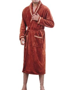 Chancen - Fleece Bathrobe
