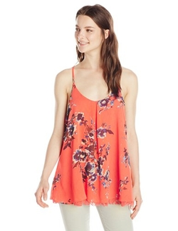 Miss Me  - Floral Chiffon Camisole