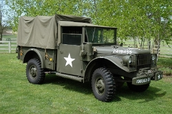 Dodge - 1952 M37 Troop Carrier Truck