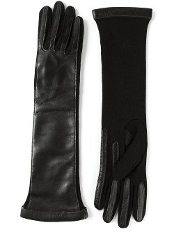 Lanvin  - Leather Long Sleeve Gloves