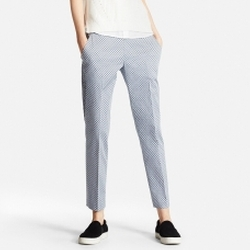 Uniqlo - Satin Ankle Length Pants