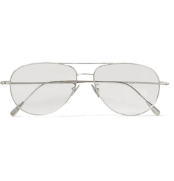 Cutler And Gross - Palladium-Plated Aviator Optical Glasses