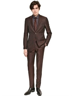 Canali - Wool/Mohair Blend Suit