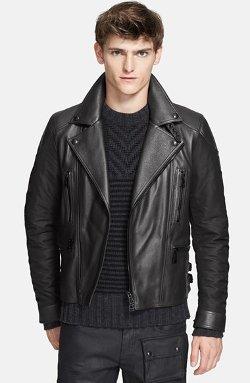 Belstaff - Alwyn Leather Moto Jacket