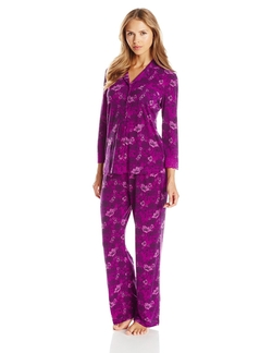 Ahh By Rhonda Shear - Printed Pajama Set