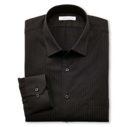 Van Heussen - Satin Stripe Dress Shirt