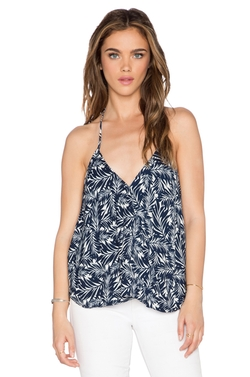 Bishop + Young - Palm Tree Halter Tank Top