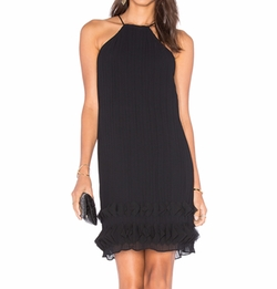 Lumier - Step To It Halter Dress