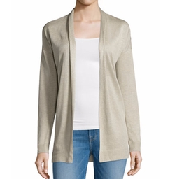 Theory - Armelle S Sag Harbor Open-Front Cardigan