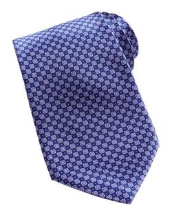 Stefano Ricci - Neat Diamond Pattern Silk Tie