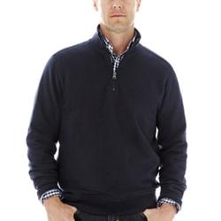 Dockers - Quarter-Zip Fleece Pullover Sweater