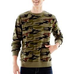 Ocean Current - Camo Fleece Pullover Shirt