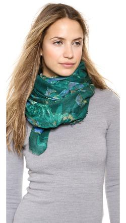 Spun Scarves by Subtle Luxury  - Painted Petal Scarf