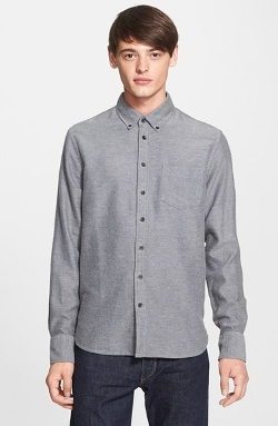 Rag & Bone - Slim Fit Brushed Oxford Dress Shirt