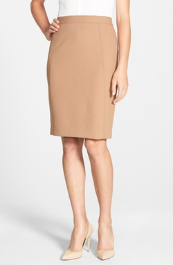 Halogen - Seamed Pencil Skirt
