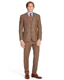 Polo Ralph Lauren - Three Piece Tick Weave Suit