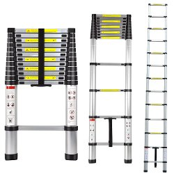 Xtremepower - Telescoping Extension Ladder