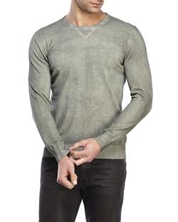 Altea - Crew Neck Dye Detail Sweater
