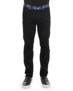 Givenchy - Paisley-Waist Denim Jeans