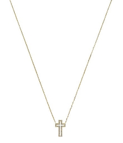 Michael Kors - Cross Motif Delicate Pendant Necklace