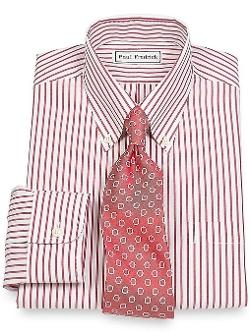 Paul Fredrick - Button Down Collar Dress Shirt