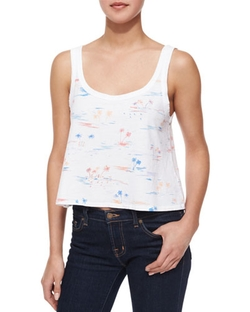 Rag & Bone/Jean - Cody Cropped Beach Tank Top