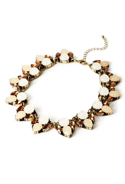 Forever21 - Faux Gemstone Necklace