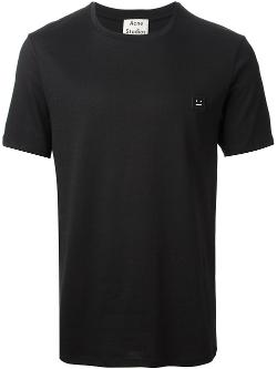 Acne Studios  - Measure-face Badge T-shirt