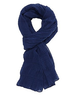 Charlotte Russe - Lightweight Crinkled Wrap Scarf