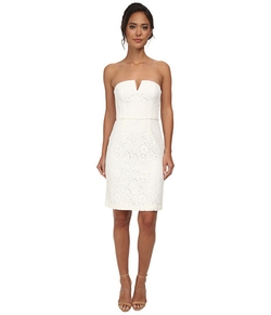 Donna Morgan - Strapless Lace Short Dress