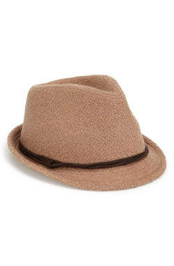 Collection Xiix - Bouclé Fedora Hat