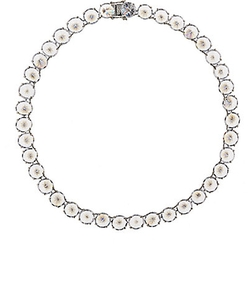 Fallon  - Inverted Cubic Zirconia Choker