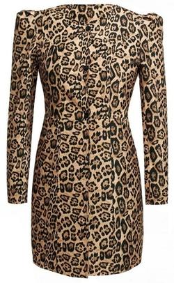 Pipi - Leopard Print Coat