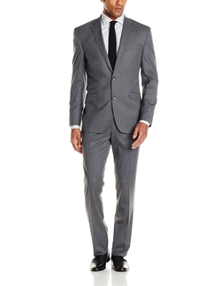 Kenneth Cole New York - Solid Slim-Fit Two-Button Suit
