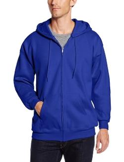 Hanes - Full Zip Ultimate Cotton Fleece Hoodie