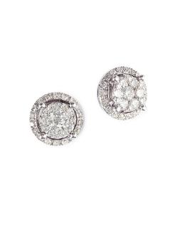 EffyBouquet - Diamond Stud Earrings