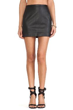 Capulet - High Waist Mini Skirt